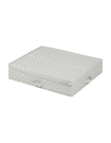 South Shore Storit Canvas Underbed Storage Box-GREY-One Size