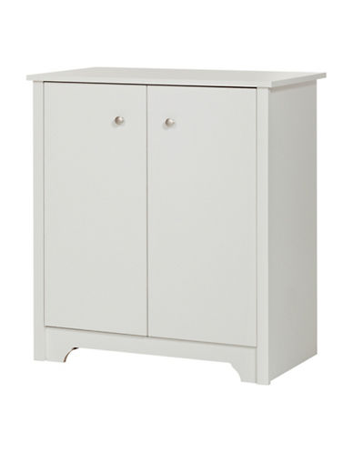 South Shore Vito Charging Station Cabinet-PURE WHITE-One Size