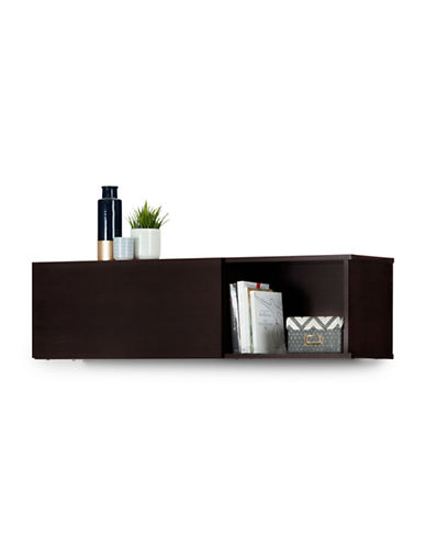 South Shore City Life Wall Mounted Storage Unit-CHOCOLATE-One Size