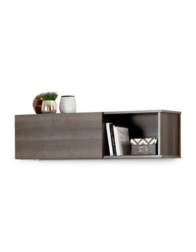 South Shore City Life Wall Mounted Storage Unit-GREY MAPLE-One Size