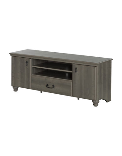 South Shore Noble TV Stand-GREY MAPLE-65