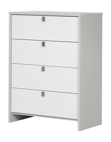 South Shore Cookie 4-Drawer Chest-MULTI-One Size