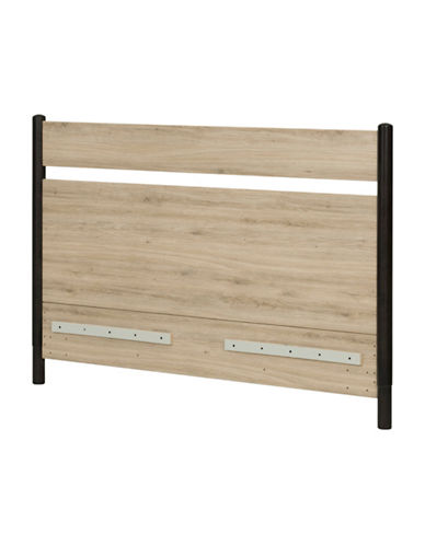 South Shore Morice Mid-Century Modern Full-Queen Headboard-RUSTIC OAK-One Size