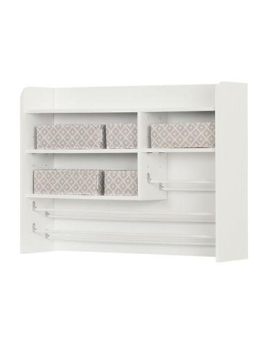 South Shore Crea Craft Storage Hutch-PURE WHITE-One Size