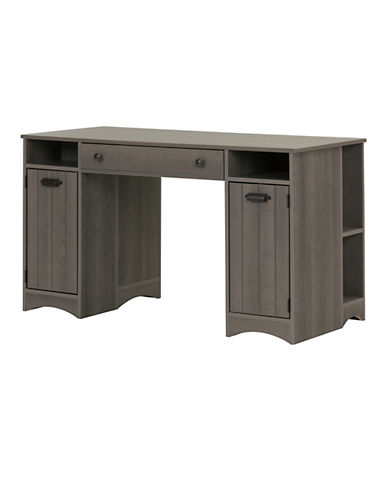 South Shore Artwork Craft Table with Storage-GREY-One Size