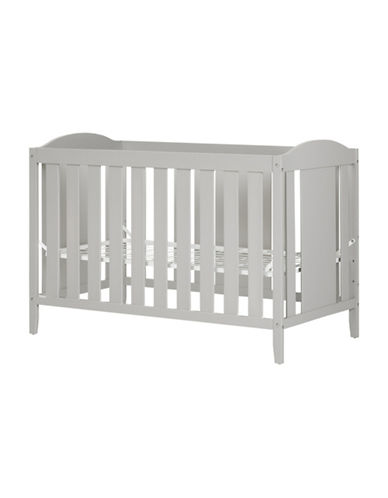 South Shore Angel Crib with Toddler Rail-GREY-One Size