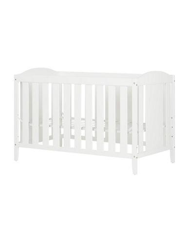 South Shore Cookie Convertible Wood Crib-WHITE-One Size