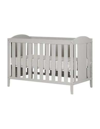 South Shore Angel Crib with Toddler Rail and Mattress-GREY-One Size