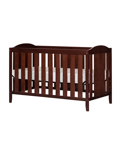 South Shore Angel Crib with Toddler Rail and Mattress-RED-One Size