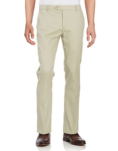 Black Brown 1826 Bedford Cord Pants-BEIGE-32X30