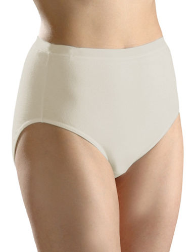 Hanna Full High-Cut Briefs-BEIGE-Small