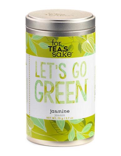 For TeaS Sake Lets Go Green Jasmine Tea-NO COLOR-One Size