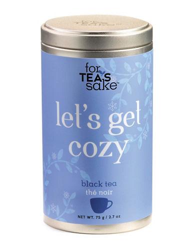 For TeaS Sake Lets Get Cozy Tea-NO COLOR-One Size