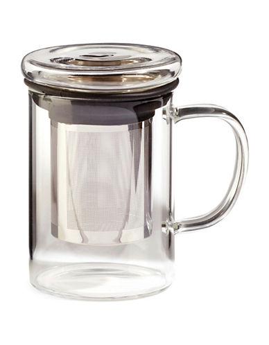 For TeaS Sake Glass Infuser Mug-CLEAR-One Size