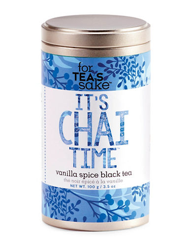 For TeaS Sake Its Chai Time Tea-NO COLOR-One Size