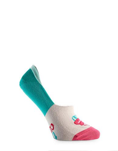 Yo Sox Womens Cupcake No-Show Socks-WHITE-One Size 90091247_WHITE_One Size