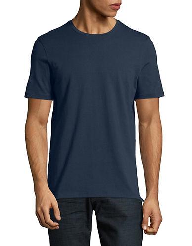 Yo And Co Short Sleeve Tee-BLUE-Large 89915542_BLUE_Large