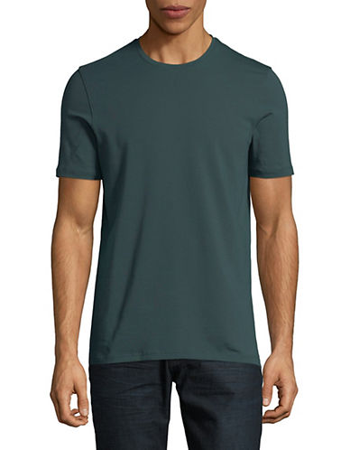 Yo And Co Short Sleeve Tee-GREEN-X-Large 89915553_GREEN_X-Large
