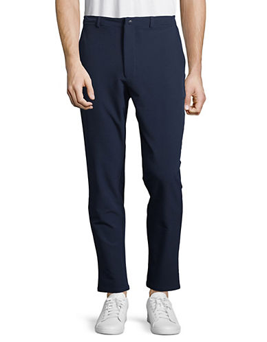 Yo And Co Classic Stretch Pants-BLUE-X-Large 89915583_BLUE_X-Large