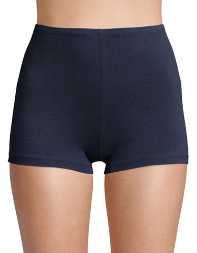 Elita Essentials Boyshorts-BLUE-Large