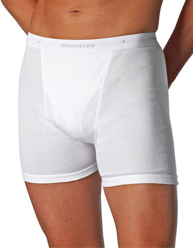 StanfieldS 2 Pack Boxer Briefs-WHITE-X-Large
