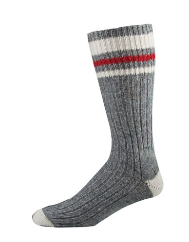 StanfieldS Three Pack Wool Work Socks-GREY-11
