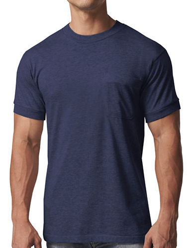 StanfieldS Premium Crew Neck Work T-Shirt-NAVY-X-Large