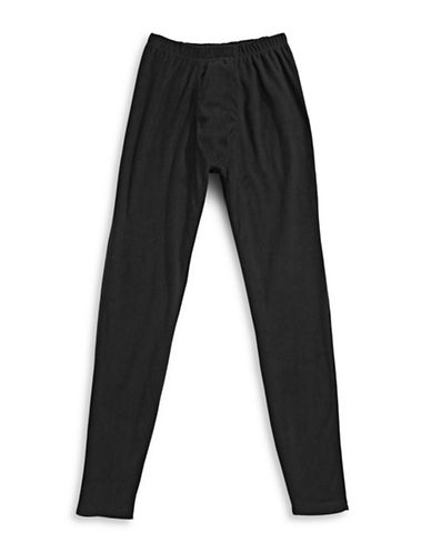StanfieldS Stretch Microfleece Leggings-BLACK-Large