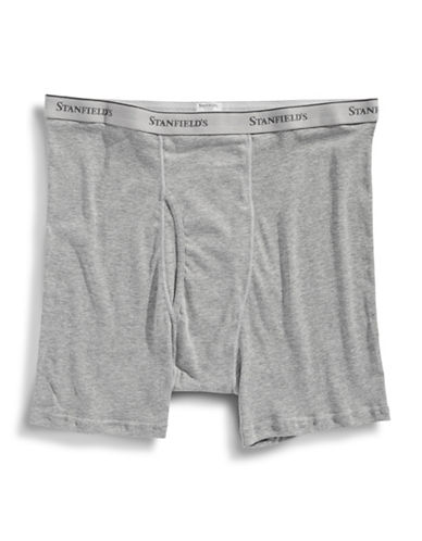 StanfieldS 2 Pack Boxer Briefs-GREY-XXX-Large