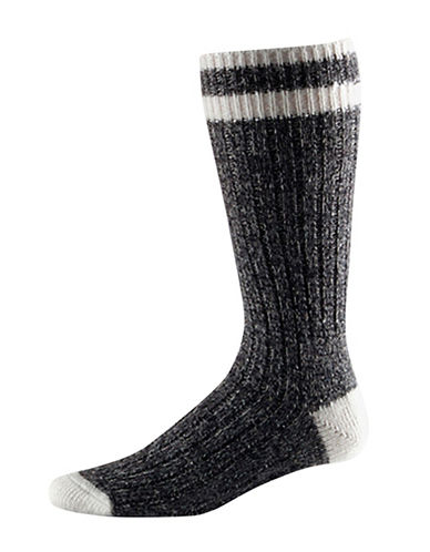 StanfieldS Two-Pack Work Socks-INK/BLACK-11