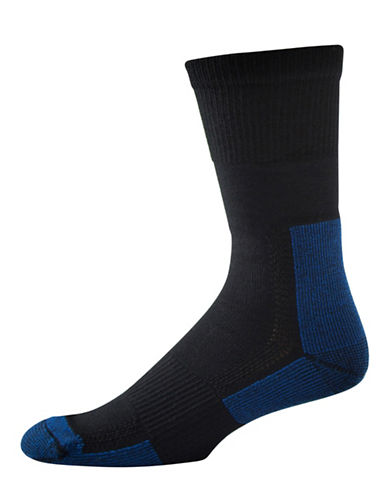 StanfieldS Two-Pack Thermal Performance Socks-COLBALT BLUE-One Size