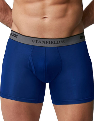 StanfieldS DryFX Performance Boxer-BLUE-Medium