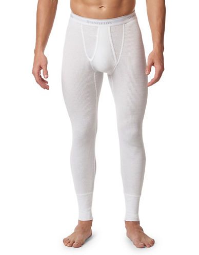 StanfieldS Thermal Longs-WHITE-Medium