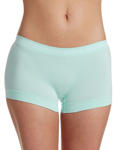 Elita Seamless Boyleg Briefs-AQUA-X-Large