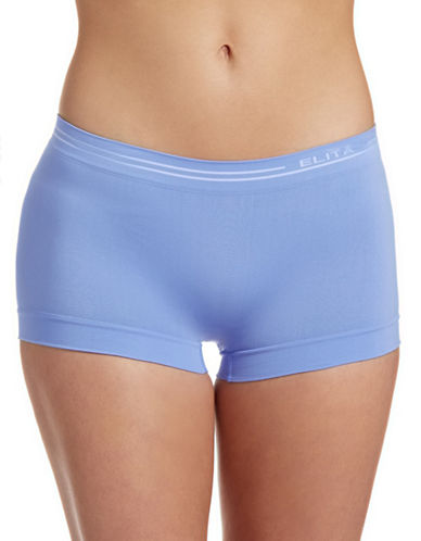 Elita Seamless Boyleg Briefs-PERIWINKLE-Medium