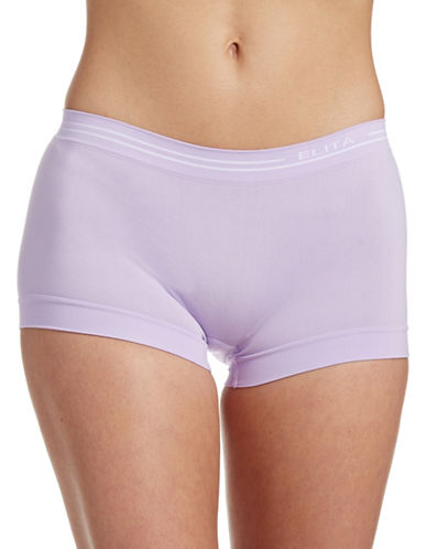 Elita Seamless Boyleg Briefs-VIOLET-Medium