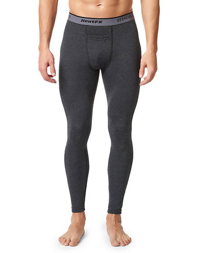StanfieldS HeatFX Merino-Wool-Blend Long Johns-CHARCOAL-Large