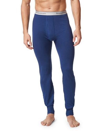 StanfieldS Two-Layer Insulating Long Underwear-REAL BLUE-Medium