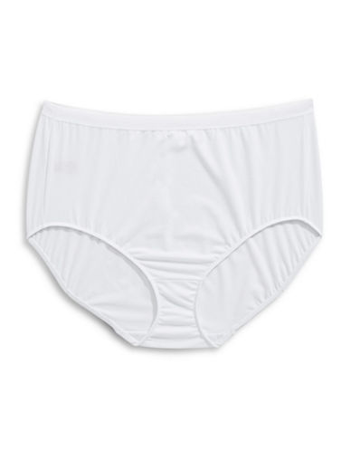 Elita Plus Full-Cut Briefs-WHITE-X-Large