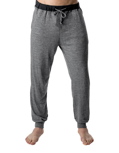 Stanfield'S Heathered Slim-Fit Lounge Pants-GREY-Large 89375187_GREY_Large