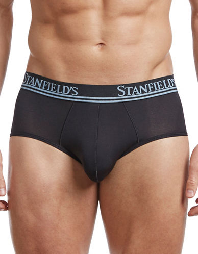 StanfieldS Stanfields Air Low Rise Briefs-BLACK-Medium