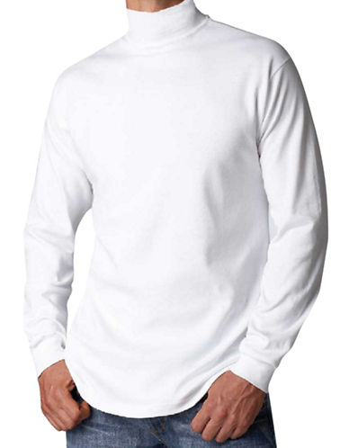StanfieldS Rib-Knit Turtleneck-WHITE-X-Large