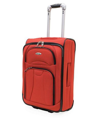 Westjet Navigator 20 Inch Expandable Upright Suitcase-ORANGE-20