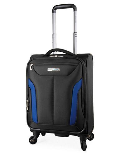 Westjet Wj Concord 18-Inch Spintrol Suitcase-BLACK-18