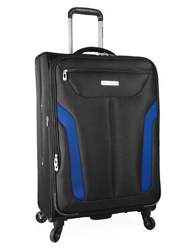 Westjet Wj Concord 24-Inch Spintrolle Suitcase-BLACK-24