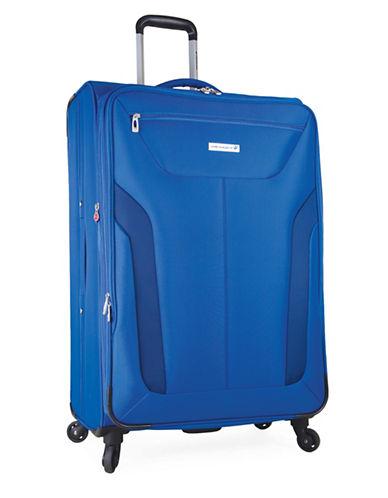 Westjet Wj Concord 28-Inch  Spin Troll Suitcas-BLUE-28