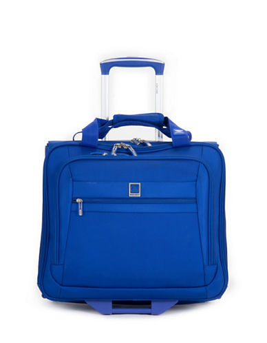 "Delsey Hyper Lite Spinner 17"" Trolley Tote-BLUE-One Size"