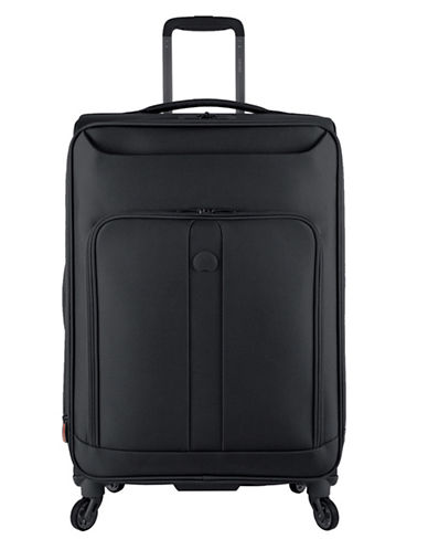Delsey Horizon 25-Inch Spinner Suitcase-BLACK-25