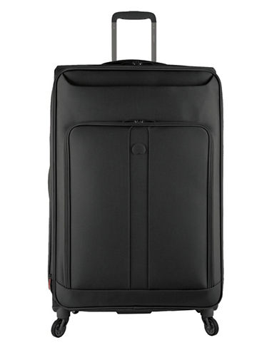 Delsey Horizon 29-Inch Spinner Suitcase-BLACK-29