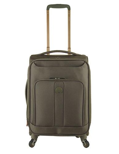 Delsey 19-Inch Horizon Expandable Spinner Suitcase-KHAKI-19
